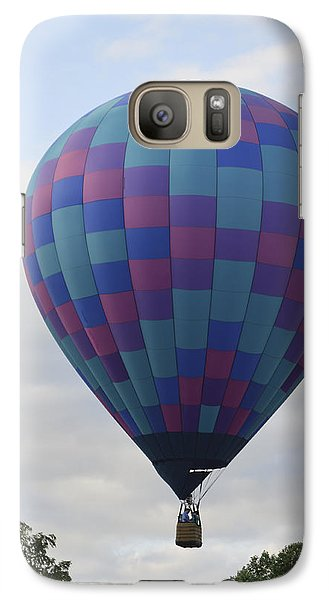 Galaxy Case featuring the photograph First To Take Off For The Atlantic by Linda Geiger