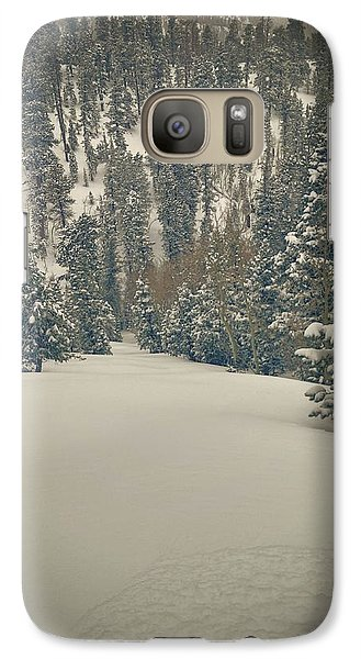 Galaxy Case featuring the photograph first turns Friday  by Mark Ross