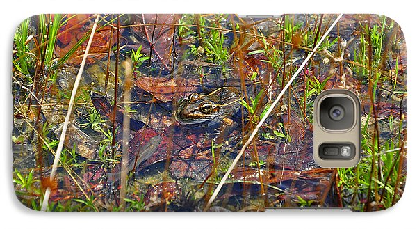 Galaxy Case featuring the photograph Fish Faces Frog by Al Powell Photography USA