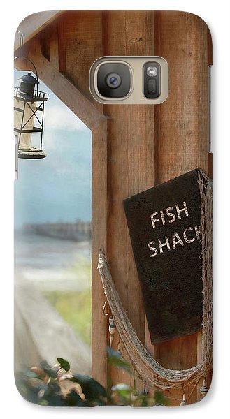 Galaxy Case featuring the photograph Fish Fileted by Lori Deiter