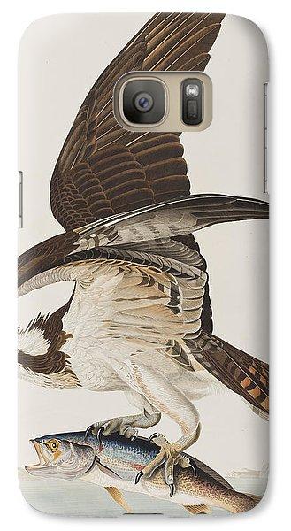 Osprey Galaxy S7 Case - Fish Hawk Or Osprey by John James Audubon