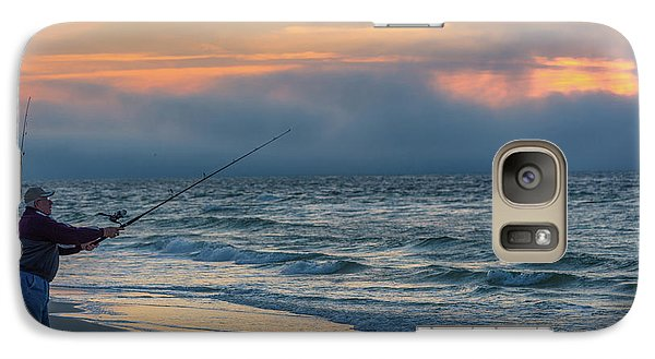 Galaxy Case featuring the photograph Fish On In Alabama  by John McGraw