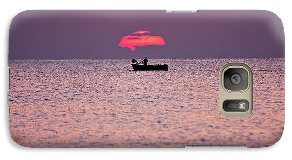 Galaxy Case featuring the photograph Fisherman by Bruno Spagnolo