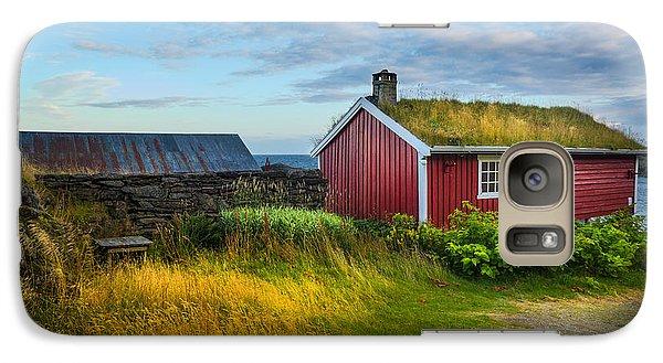 Galaxy Case featuring the photograph Fisherman House by Maciej Markiewicz