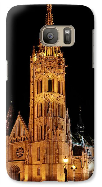 Galaxy Case featuring the digital art  Fishermans Bastion - Budapest by Pat Speirs