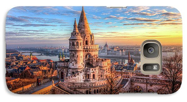 Galaxy Case featuring the photograph Fisherman's Bastion In Budapest by Shawn Everhart