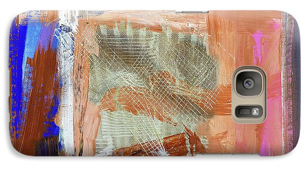 Galaxy Case featuring the painting Fisherman Net by Walter Fahmy