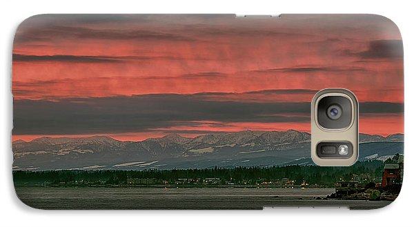 Galaxy Case featuring the photograph Fishermans Wharf Sunrise by Randy Hall