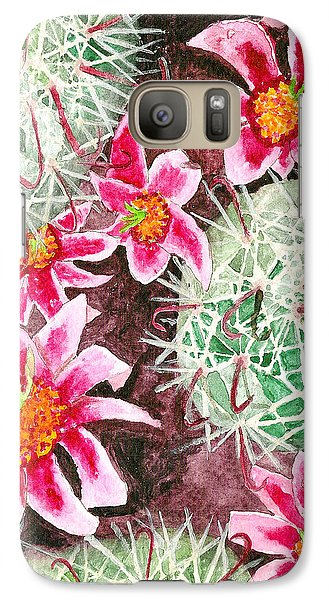Galaxy Case featuring the painting Fishhook Beauty by Eric Samuelson