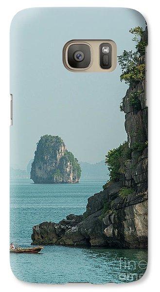 Fishing Boat 2 Galaxy S7 Case by Werner Padarin