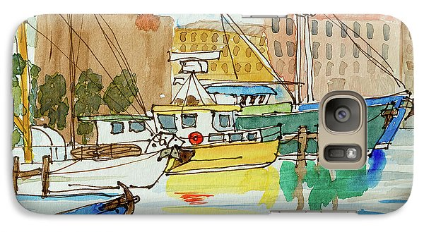 Fishing Boats In Hobart's Victoria Dock Galaxy S7 Case