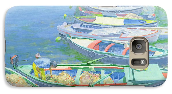 Boat Galaxy S7 Case - Fishing Boats by William Ireland