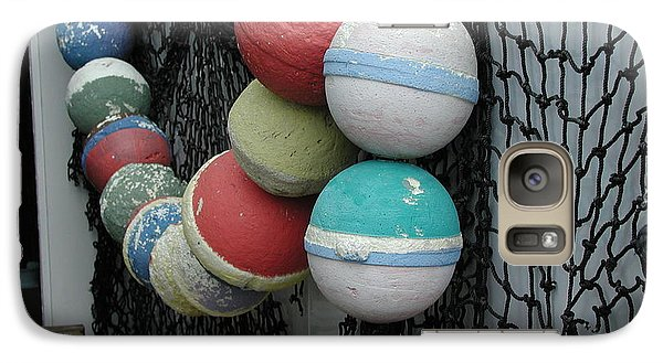 Galaxy Case featuring the photograph Fishing Buoys by Nancy Taylor