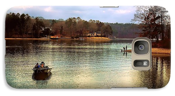 Galaxy Case featuring the photograph Fishing Hot Springs Ar by Diana Mary Sharpton