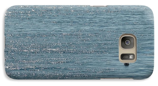 Galaxy Case featuring the photograph Fishing In The Ocean Off Palos Verdes by Joe Bonita