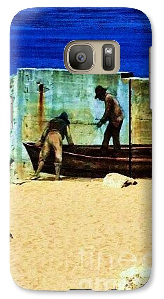 Galaxy Case featuring the photograph Fishing by Vanessa Palomino