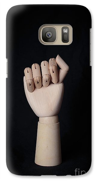 Galaxy Case featuring the photograph Fist by Edward Fielding