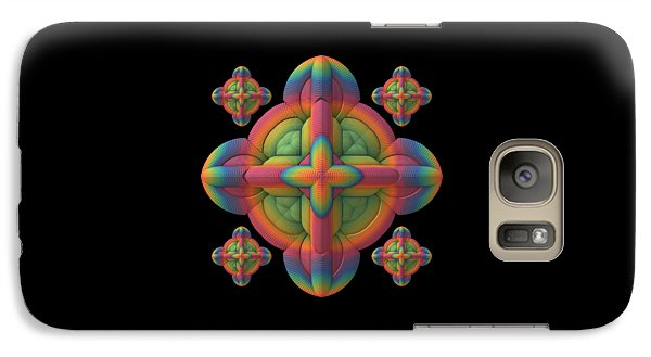 Galaxy Case featuring the digital art Fit To A Tee by Lyle Hatch