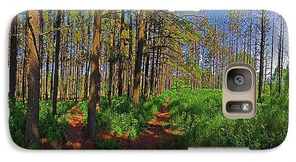 Galaxy Case featuring the photograph Five Paths by Tom Jelen