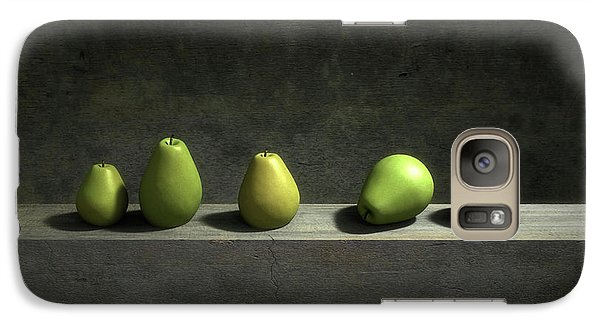 Still Life Galaxy S7 Case - Five Pears by Cynthia Decker