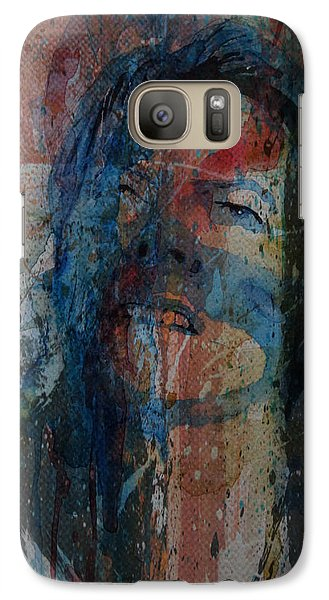 Galaxy Case featuring the painting Five Years by Paul Lovering