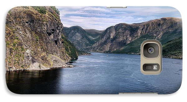 Galaxy Case featuring the photograph Fjord by Jim Hill