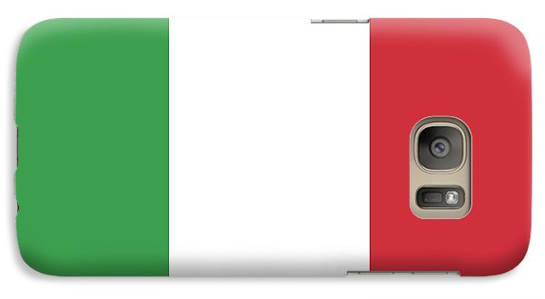 Galaxy Case featuring the digital art Flag Of Italy by Bruce Stanfield