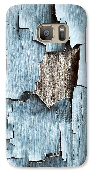 Galaxy Case featuring the photograph Flaky by Tom Druin