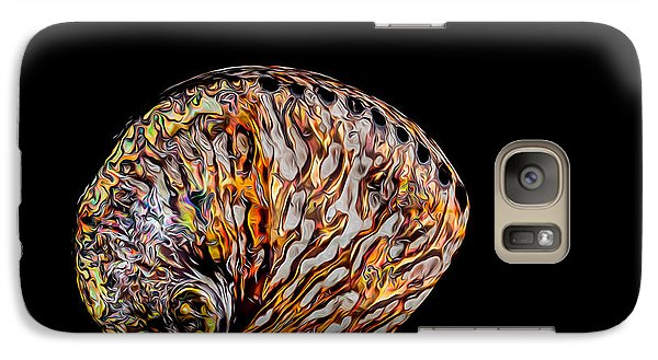 Galaxy S7 Case featuring the photograph Flame Abalone by Rikk Flohr