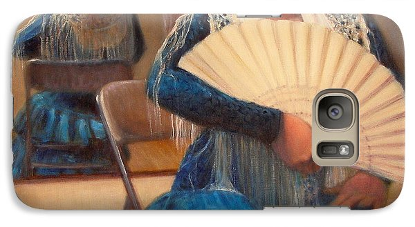 Galaxy Case featuring the painting Flamenco 1 by Donelli  DiMaria