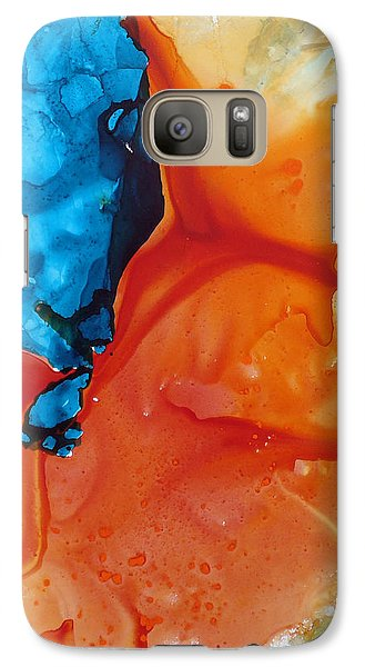 Galaxy Case featuring the painting Flamenco by Keith Thue