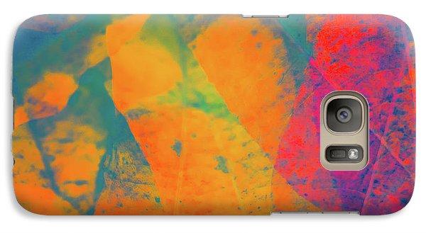 Galaxy Case featuring the photograph Flaming Foliage 1 by Ari Salmela