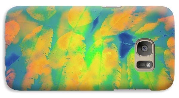 Galaxy Case featuring the photograph Flaming Foliage 2 by Ari Salmela