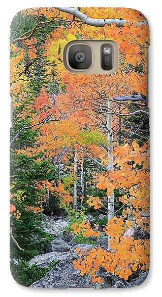 Flaming Forest Galaxy S7 Case