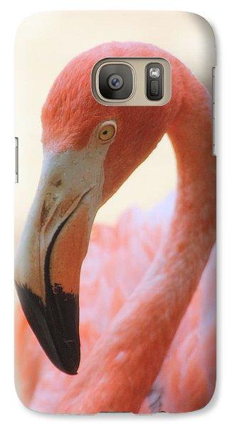 Galaxy Case featuring the photograph Flamingo 2 by Elizabeth Budd