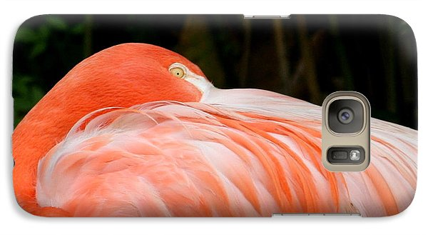 Galaxy Case featuring the photograph Flaming O by Cathy Harper
