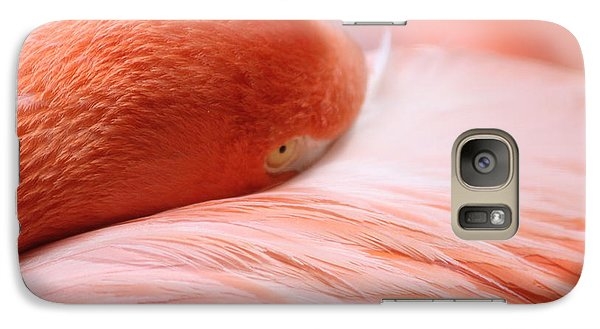 Galaxy Case featuring the photograph Flamingo by Elizabeth Budd