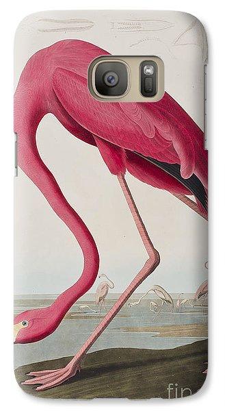 Flamingo Galaxy Case by John James Audubon