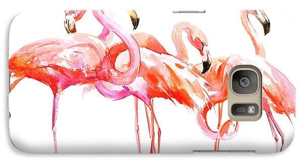 Flamingos Galaxy S7 Case