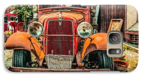 Galaxy Case featuring the photograph Flat Bed Ford by Nick Zelinsky
