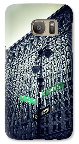 Galaxy Case featuring the photograph Flatiron Directions by Jessica Jenney