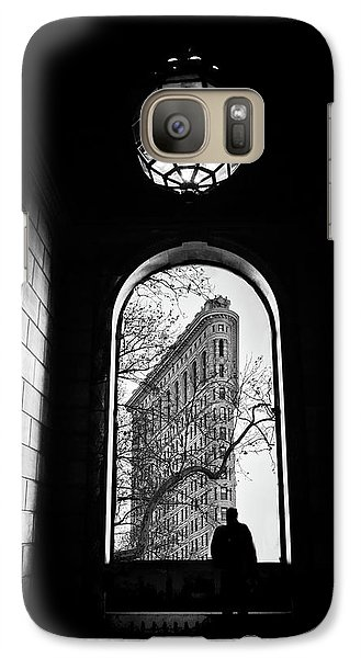 Galaxy Case featuring the photograph Flatiron Perspective by Jessica Jenney