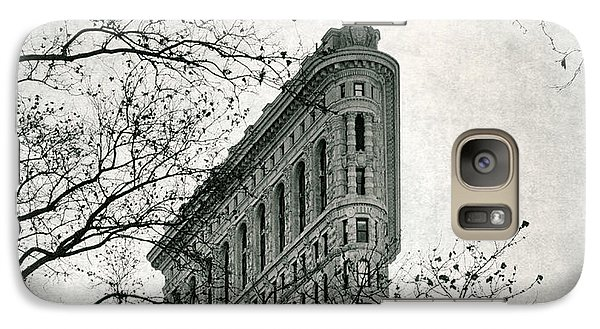 Galaxy Case featuring the photograph Flatiron Vintage by Jessica Jenney