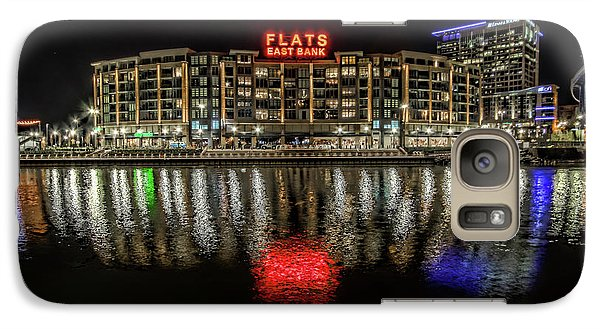 Galaxy Case featuring the photograph Flats East Bank by Brent Durken
