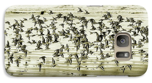 Galaxy Case featuring the photograph Flight by Mary Jo Allen