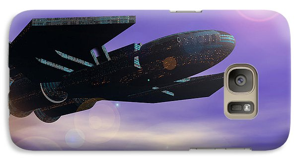 Galaxy Case featuring the digital art Flight Of The 501st Phoenix by Curtiss Shaffer