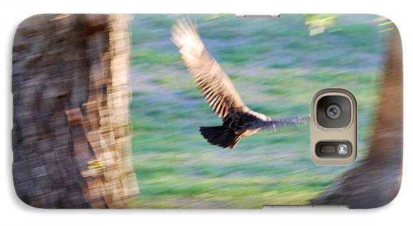Galaxy Case featuring the photograph Flight Of The Heart by Teresa Blanton