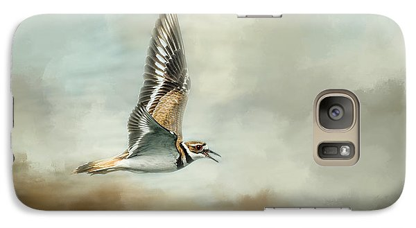 Flight Of The Killdeer Galaxy S7 Case