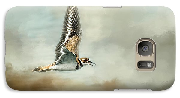 Flight Of The Killdeer Galaxy S7 Case by Jai Johnson