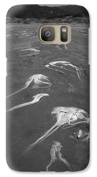 Galaxy Case featuring the photograph Flight Of The Ocean Hairs by Marie Neder